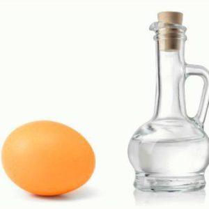 Народные рецепты с уксусом и яйцом